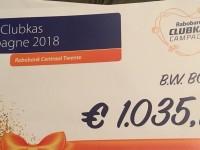 Rabo Clubkas Campagne, heel mooi resultaat