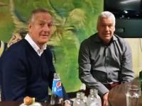 Roelof Luinge en Eddy Achterberg gasten bij Club van 100 BVV Borne