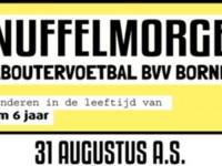 Snuffelmorgen Kaboutervoetbal BVV Borne 31 Augustus 2019